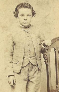 CDV PHOTO HANDSOME WELL DRESSED LITTLE BOY JUSTIN BASSETT CIVIL WAR TAX STAMP | eBay