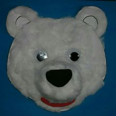 Polar bear craft for Polar Explorers Holiday Club.