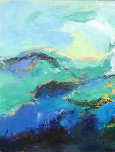 Fait à la main Extra Large peinture par CelineZiangArt sur Etsy