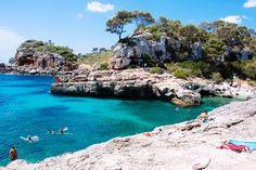 Cala S'Almunia near Santanyi, Mallorca