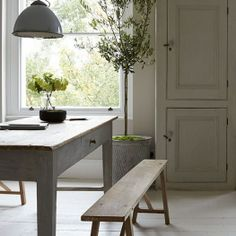 industrial style victorian terrace Living dining-room