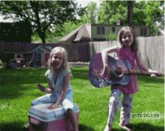 These girls who inherited a little brother with a destructive streak: