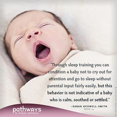 Want to learn more about The Myth of Self-Settling? Sarah Ockwell-Smith's article explains what really happens when you teach a baby to self-soothe to sleep.