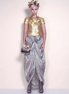 Flamboyant Seapunk Fashions - The DORAABODI Spring 2013 Collection Embraces Aquatic Patterns (GALLERY)