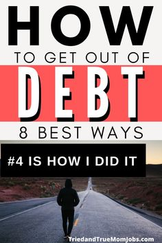 Do you want to know how to get out of debt? There are a few little-known ways to help you get out of debt that I'm going to share with you today Best Money Saving Tips, Money Saving Mom, Ways To Save Money, Money Savers, Earn Money From Home, Earn Money Online, Legitimate Work From Home, Financial Peace, Tax Refund