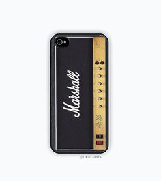 Marshall Amplifier Iphone 5 case, Iphone 5s case, Hard Plastic Case