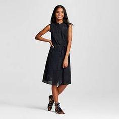 Women's Eyelet Drawstring Dress - Who What Wear ™ : Target