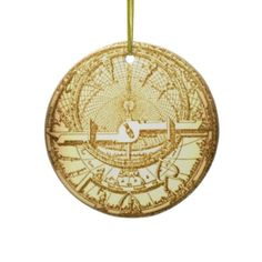 Steampunk Christmas ornament