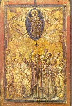 ikoon van de hemelvaart van Christus