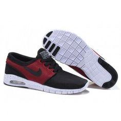 Nike Stefan Janoski Max Red Black