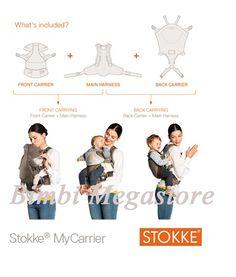 Stokke - Stokke My Carrier Marsupio - Bimbi Megastore