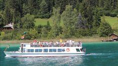 Eine Schiffsrundfahrt auf dem Weissensee in Kärnten Videos, Video Clip