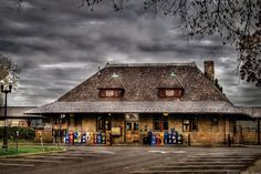 """Westfield NJ train Station...Where """"John List"""" read a book all day, while his family thought he was at work..."""