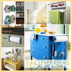 Clever Ideas: For The Kitchen!
