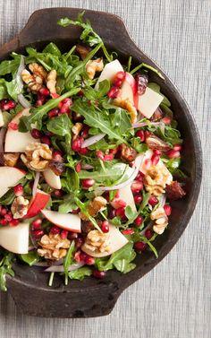 Pomegranate, Apple and Date Salad | Joy of Kosher
