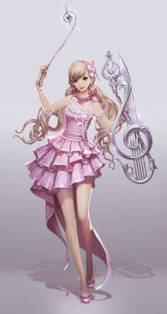 Aion character: Musician