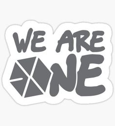 Exo stickers featuring millions of original designs created by independent artists. 4 sizes available. Exo Stickers, Tumblr Stickers, Printable Stickers, Cute Stickers, Phone Stickers, Exo Cartoon, Exo Red Velvet, Kpop Logos, Exo Fan Art