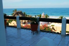 Casa Las Palmas - San Pancho, Mexico - 2 bedrooms - Beautiful Ocean Views  - For information and reservations click here: http://www.sanpanchorentals.com/2bedroom/casa_las_palmas.html Only $250 USD per night!