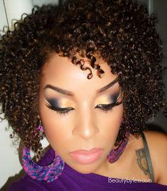 Beauty By Lee: Arabian sunset Makeup tutorial  I love her eye makeup