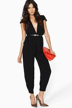 Reverse Hot Natured Jumpsuit. Wish I was tall enough for this :(