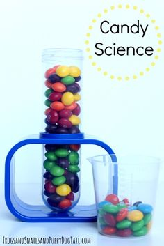 Candy Science for Kids.  Fun experiments for the kids to do with candy on FSPDT