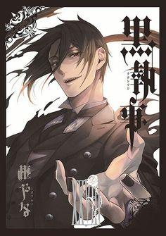 Kuroshitsuji X Reader Quotev Black Butler Manga, Black Butler Sebastian, Black Butler Cosplay, Manga Anime, Bts Anime, Fanarts Anime, Ciel Anime, Anime Art, Anime Kuroshitsuji