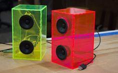 Laser Cut New Enclosures for Desktop Speakers                                                                                                                                                                                 More