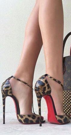 Louboutin -Leopard Stilettos