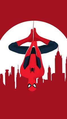 Spider Man Vector Art iPhone Wallpaper - iPhone Wallpapers