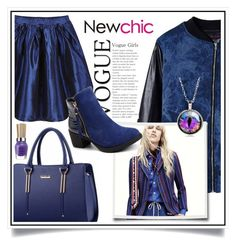 """NewChic contest with Women Casual Sweet Handbag Leisure Shoulder Bag"" by ewa-naukowicz-wojcik ❤ liked on Polyvore featuring chic, New and newchic"
