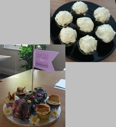 We are now into week 6 of The Great CFA Bake Off! Today we saw Amy and Justin go head-to-head with a Colin the Caterpillar cake vs carrot flavoured cupcakes. And the winner was..... Justin with his cupcakes! Congrats and good luck in the semi-final!