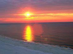 Sunset at SeaChase in Orange Beach