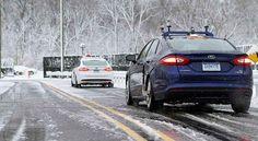 Conducción autónoma en nieve, Ford superó el reto - http://autoproyecto.com/2016/03/conduccion-autonoma-en-nieve.html?utm_source=PN&utm_medium=Vanessa+Pinterest&utm_campaign=SNAP