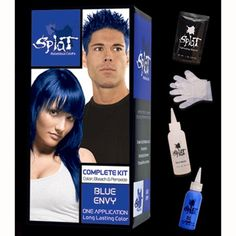Splat Hair Dye - Blue Envy. It's crazy this cheap drugstore blue can hold SO well!!!! Lasts for so long!