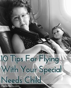 10 tips for flying with your special needs child — made of gray Small Diaper Bag, Medical Bag, Special Needs Kids, Special People, Cerebral Palsy, Branding, Educational Technology, Education Quotes, Disability