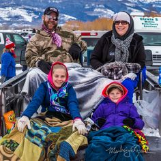 Tailgaters, Teton Valley Skijoring, Driggs, Idaho Photo © 2016 Mark LaRowe Photography
