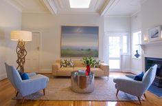 Brett Mickan living room
