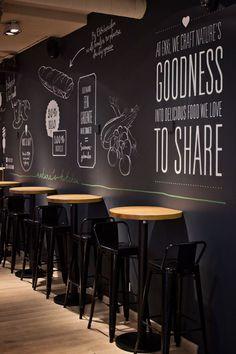 New design interior restaurant bar spaces Ideas Restaurant design Cafe Bar, Cafe Restaurant, Restaurant Seating, Restaurant Ideas, Cafe Seating, Cafe Shop, Black Restaurant, Fast Food Restaurant, Coffee Shop Interior Design