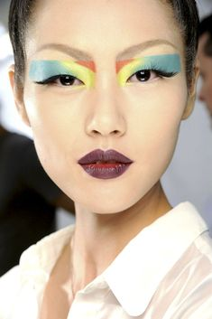 graphic shapes // color blocked // Pat McGrath