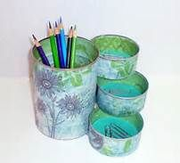 Crafts Using Large Tin Cans - Bing Images
