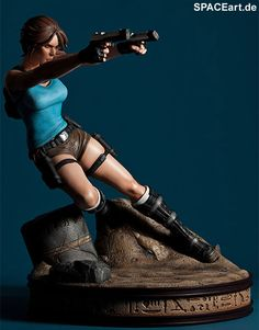 Tomb Raider - Temple of Osiris: Lara Croft, Statue ... http://spaceart.de/produkte/tbr001.php