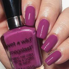 Through the Grapevine by @wetnwildbeauty   #purplenails #swatch #nailpolishswatch