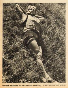 Tour de France 1953. 8^Tappa, 10 luglio. Nantes > Bordeaux. Bernard Gauthier (1924)