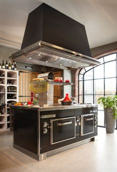 cuisini re thermo emmanuelle piano de cuisson chauffage central bois cuisine pinterest. Black Bedroom Furniture Sets. Home Design Ideas
