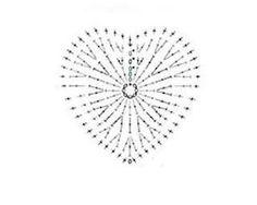 Crochet heart square pattern charts Ideas for 2019 Crochet Diy, Pixel Crochet, Baby Afghan Crochet, Crochet Motifs, Crochet Flower Patterns, Freeform Crochet, Crochet Diagram, Crochet Stitches Patterns, Crochet Chart
