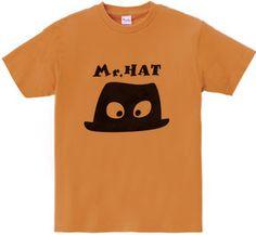 Mr.HAT : URUOU [フライスTシャツ] - デザインTシャツマーケット/Hoimi(ホイミ)