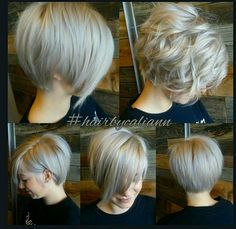 love love this! I would if I was brave enough to chop my hair off