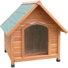 Petzone Wooden Dog Kennel Extra Large