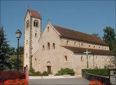 L'église de Feldbach dans le Sundgau