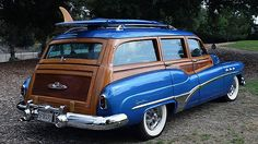 1951 Buick Super Station Wagon Wire Wheels, Matching Surfboard presented as lot S180 at Anaheim, CA 2015 - image3